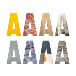 Museon A&O-arkkitehtuurikasvatuksen oppimateriaaleissa käytetyn logon A-kirjain