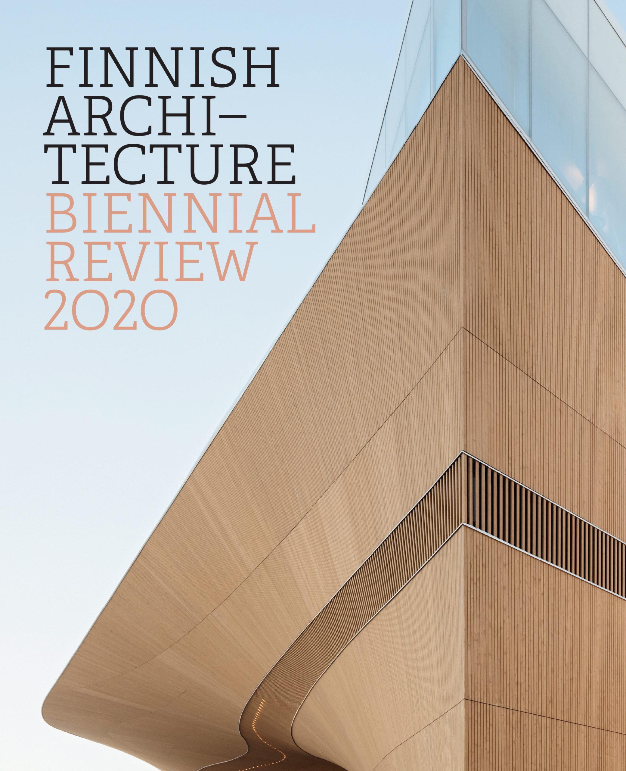 Finnish Architecture – Biennial Review 2020 -kirjan kansi