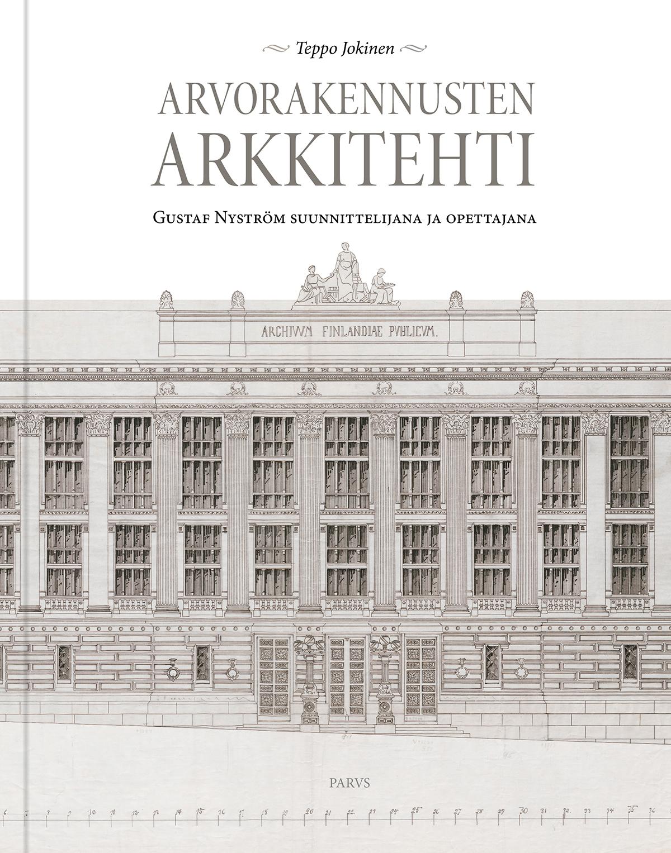 Arvorakennusten arkkitehti -kirjan kansi