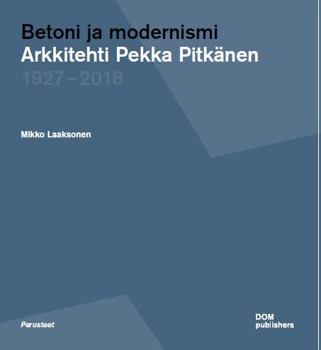 Betoni ja Modernismi -kirjan kansi
