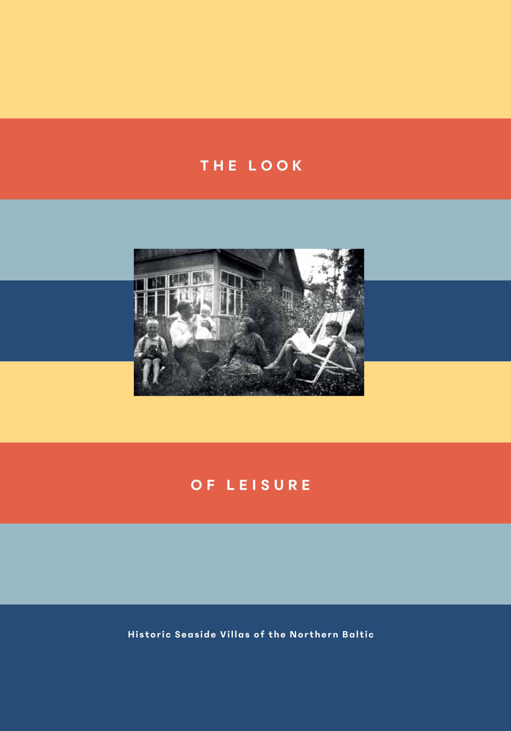 The Look of Leisure -kirjan kansi